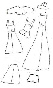 Barbie Photo Fashion Doll Instructions Old Barbie Pattern from Doll